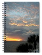 Fiery Sky Spiral Notebook