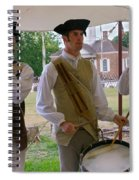 Fifes And Drums Spiral Notebook