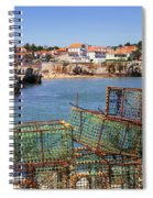 Fishing Traps Spiral Notebook