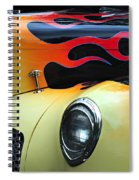 Flames Spiral Notebook
