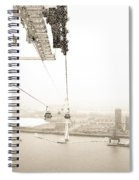 Flight Over The Thames Spiral Notebook