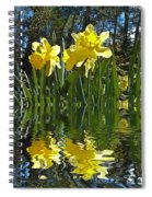 Flooded Daffodils Spiral Notebook