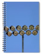 Floodlight  Spiral Notebook