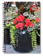 Flower Pots ........ 12 Spiral Notebook
