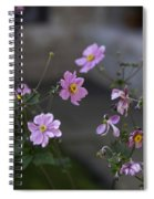 Flowers At The Cloisters Spiral Notebook