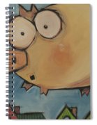 Flying Pig First Flight Spiral Notebook
