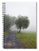 Foggy Landscape Spiral Notebook