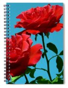 Forests Flowers Spiral Notebook