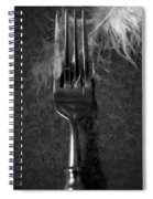 Fork And Feather Spiral Notebook