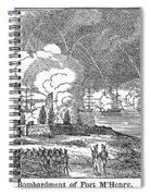 Fort Mchenry, 1814 Spiral Notebook