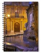 Fountain Aix-en-provence Spiral Notebook
