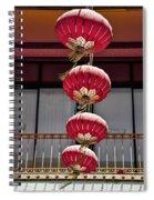 Four Lanterns Spiral Notebook