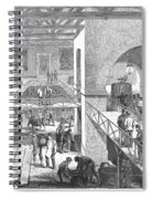 France: Wine Harvest, 1871 Spiral Notebook