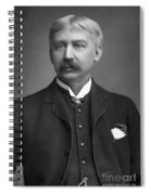 Francis Brett Harte Spiral Notebook