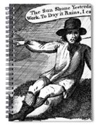 Franklin: Way To Wealth Spiral Notebook