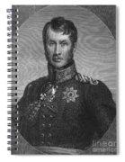 Frederick William IIi Spiral Notebook