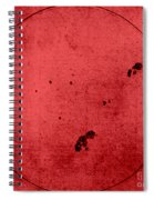 Galileo Sunspot Illustration Spiral Notebook