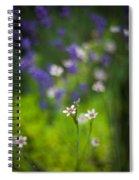 Garden Of Bliss Spiral Notebook