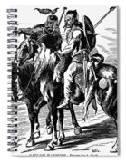 Gaulish Warriors Spiral Notebook