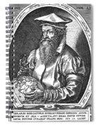 Gerardus Mercator, Flemish Cartographer Spiral Notebook