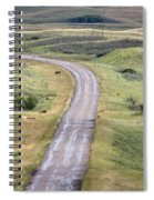 Ghost Town Galilee Saskatchewan Spiral Notebook