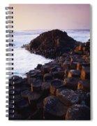 Giants Causeway, Co Antrim, Ireland Spiral Notebook