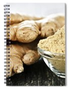 Ginger Root Spiral Notebook