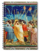 Giotto: Betrayal Of Christ Spiral Notebook