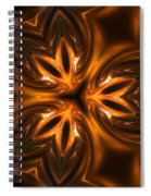 Golden Times Spiral Notebook