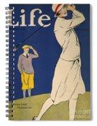 Golfing: Magazine Cover Spiral Notebook
