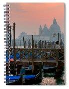 Gondole. Venezia. Spiral Notebook