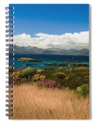 Gorse And Rhododendron Bushes Spiral Notebook