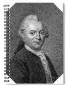 Gotthold Ephraim Lessing Spiral Notebook