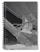 Grain Processing Facility In Mclean Illinois 1 Spiral Notebook
