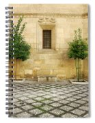 Granada Cathedral Doors And Other Details Spiral Notebook