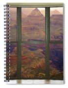 Grand Canyon Springtime Bay Window View Spiral Notebook