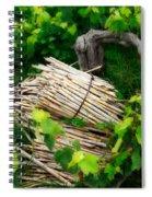 Grape Vines  Spiral Notebook