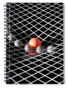 Gravity Simulation Spiral Notebook