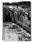 Great Falls Virginia Bw Spiral Notebook
