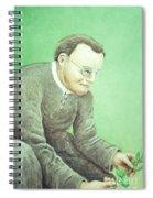 Gregor Mendel, Father Of Genetics Spiral Notebook