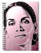 Halle Berry In 2008 Spiral Notebook
