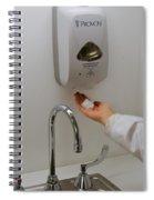 Hand Washing Spiral Notebook