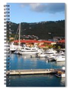 Harbor Paradise Spiral Notebook