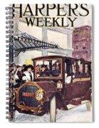 Harpers Weekly, 1913 Spiral Notebook