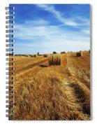 Hay Baling Spiral Notebook
