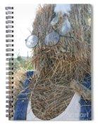 Hay Man Spiral Notebook