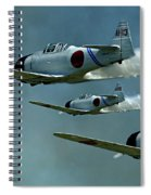 Heading For Pearl Harbor Spiral Notebook