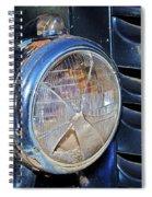 Headlamp Out Spiral Notebook