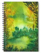 Hidden Pond Spiral Notebook