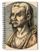 Hippocrates, Greek Physician Spiral Notebook